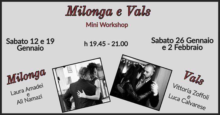 Mini workshop di Milonga e Vals