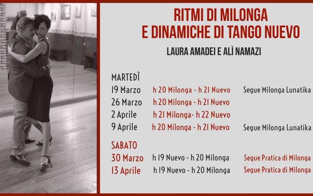 Seminari di Milonga e Tango Nuevo