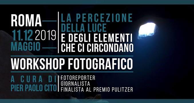 La percezione della luce – Workshop fotografico