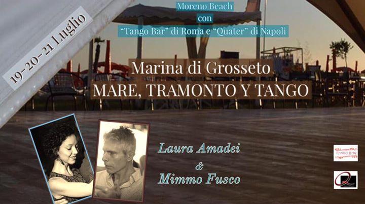 MARE, TRAMONTO Y TANGO