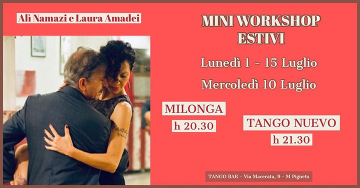 Mini Workshop di Milonga e Tango Nuevo