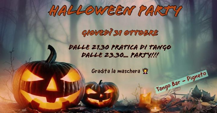 EVENTO ANNULLATO – HALLOWEEN PARTY